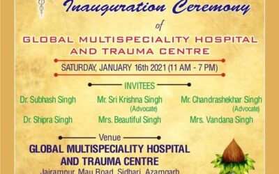 Inauguration Ceremony of Global Multispeciality Hospital and Trauma Center